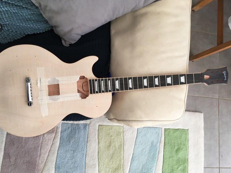 construction d une lp59 replica en kit custom page 26 guitare. Black Bedroom Furniture Sets. Home Design Ideas