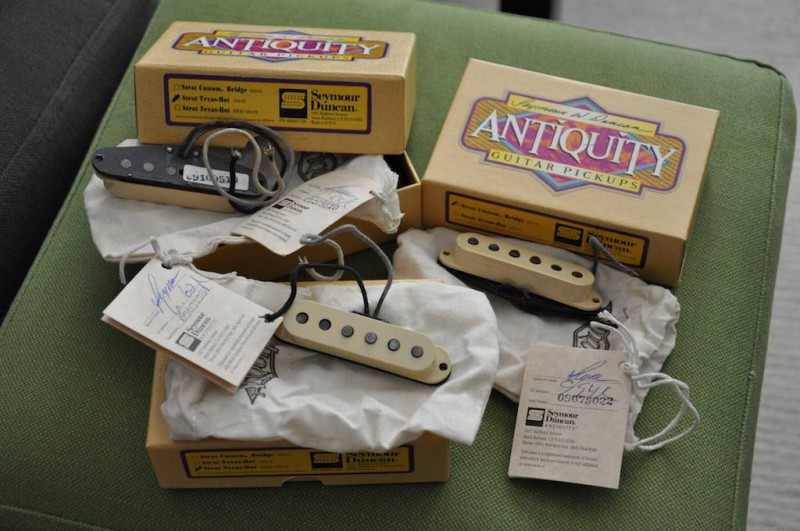 Sold - Seymour Duncan Antiquity Texas Hot Strat set | The Gear Page